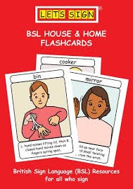 Let's Sign BSL House and Home flashcards