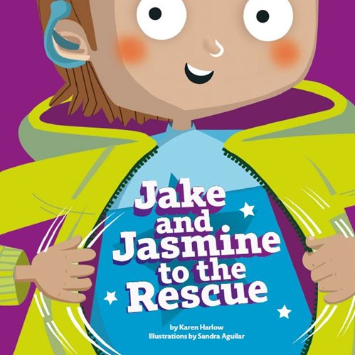 Jake and Jasmine to the Rescue book cover