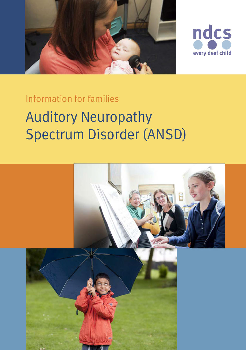 Auditory Neuropathy Spectrum Disorder (Information for Families)