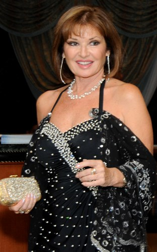 Actress Stephanie Beacham