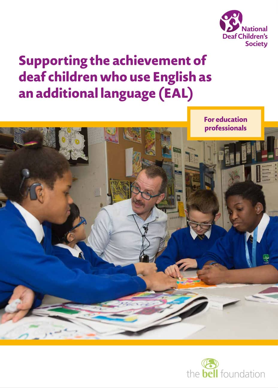Supporting the achievement of deaf children who use English as an additional language (EAL)