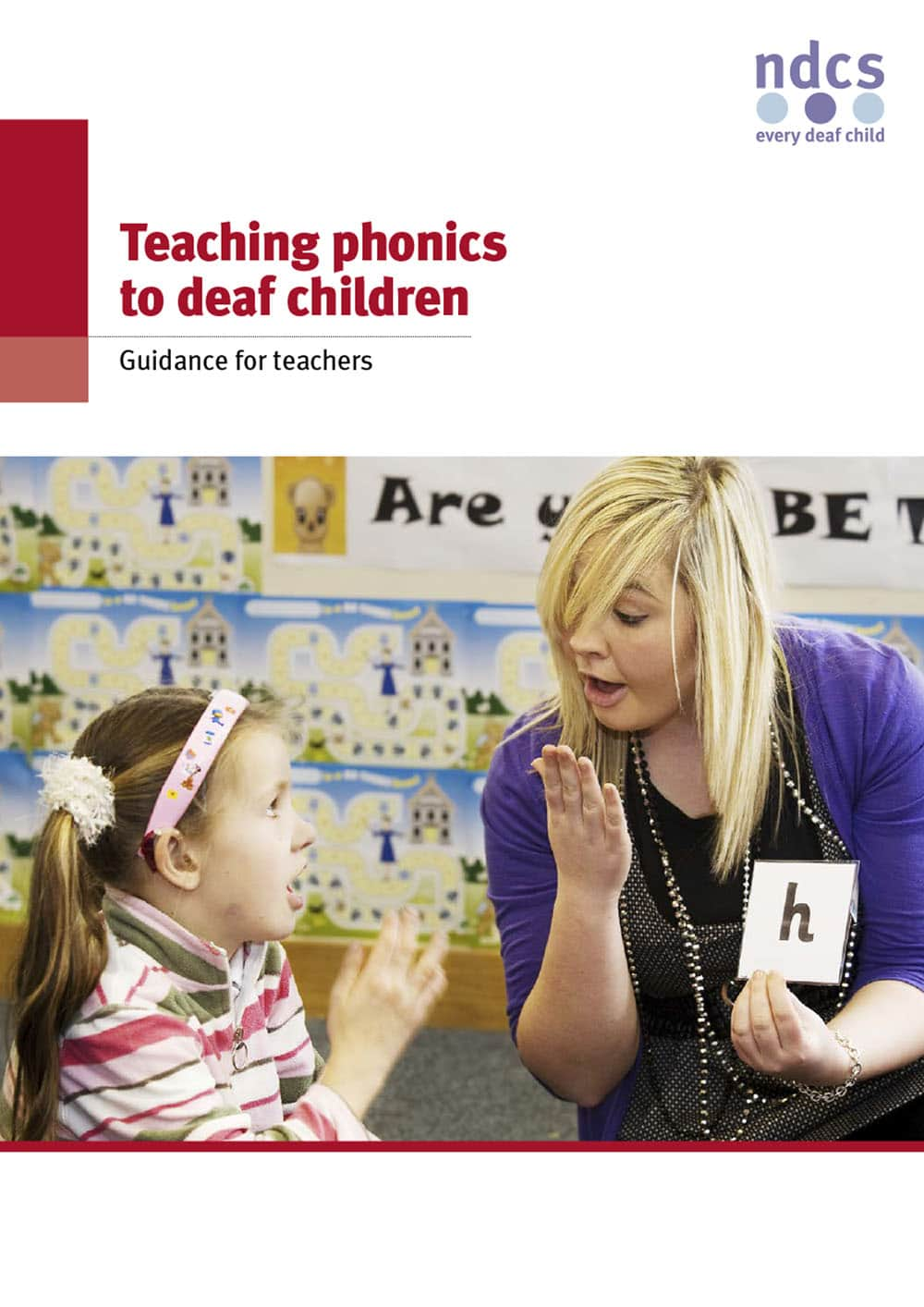 Teaching phonics to deaf children: Guidance for teachers