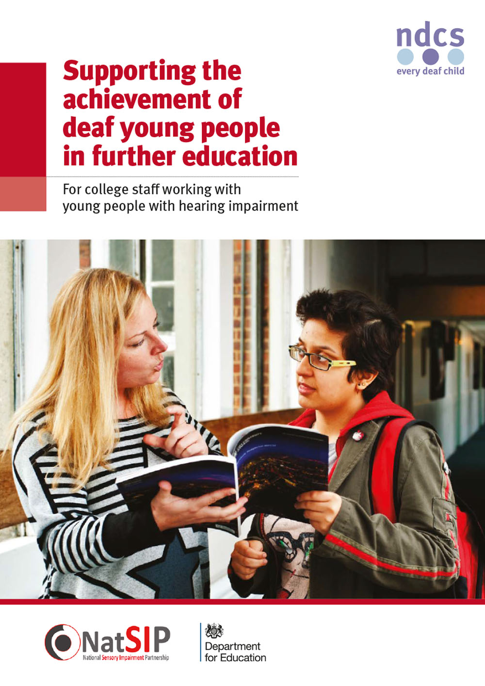 Supporting the achievement of deaf young people in further education